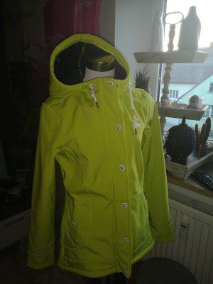 Schmuddelwedda Softshell Jacket lime yellow