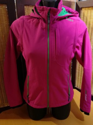 CPM the Collection! Softshell Jacket magenta polyamide
