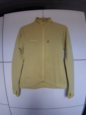 Mammut Softshell Jacket pale green polyester