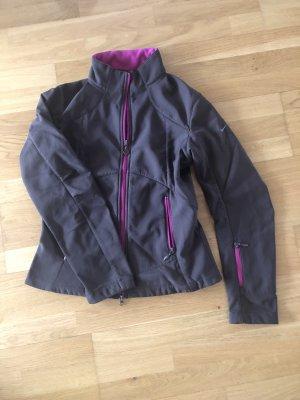 Nike Softshell Jacket dark brown-violet