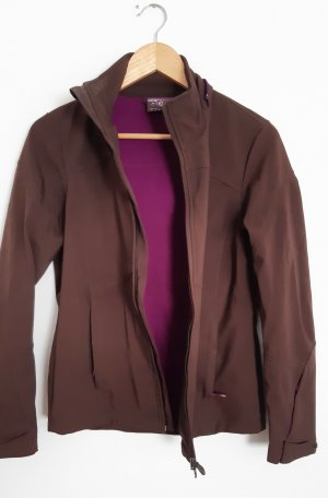 Tchibo / TCM Softshell Jacket brown-violet