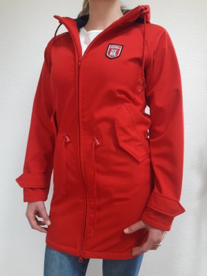 Derbe Chaqueta larga rojo