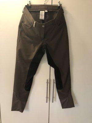 Felix Bühler Riding Trousers grey brown-black