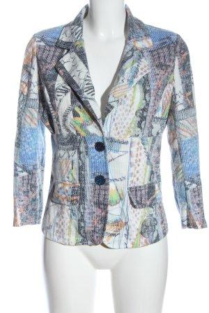 Soggo Knitted Blazer abstract pattern elegant