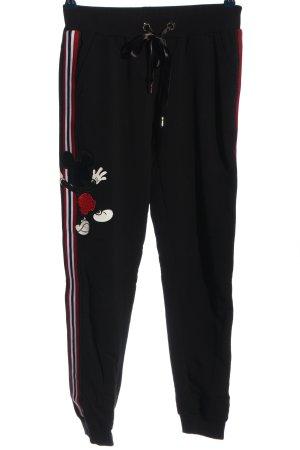 Sogo Pantalon de jogging imprimé avec thème style décontracté