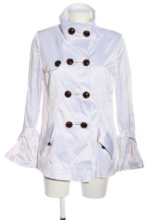 Soho & Jagger Krótki płaszcz biały W stylu casual