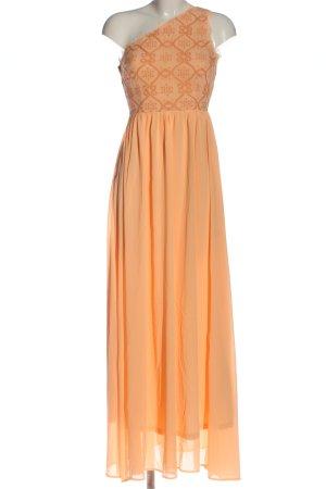 Soieblu Sukienka na jedno ramię jasny pomarańczowy Elegancki