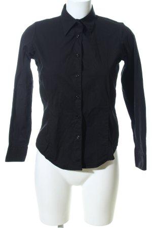 Sol's Langarm-Bluse schwarz Business-Look
