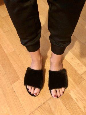 Sol Sana Sandalen met bandjes zwart