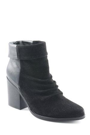 Sol Sana Schlüpf-Stiefeletten schwarz Casual-Look