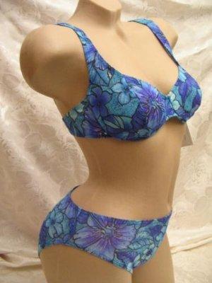 solar Bikini azul