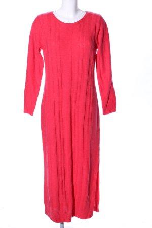 solar Robe en maille tricotées rouge style d'affaires