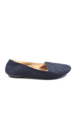 sole desire Bailarinas plegables azul look casual