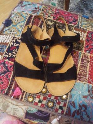 Sole Runner Outdoor sandalen zwart