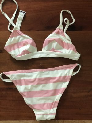Solid and Striped The Morgan striped triangle bikini