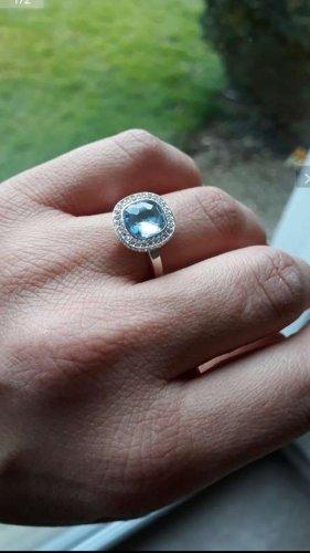 Thomas Sabo Silver Ring azure