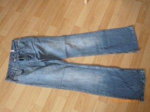 s.Oliver Stretch Jeans cornflower blue-azure cotton