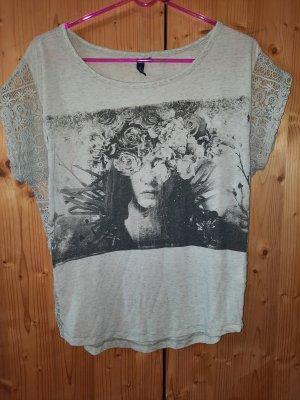 sOliver shirt mit spitze