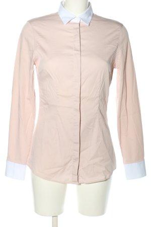 Soluzione Langarm-Bluse creme-weiß Casual-Look