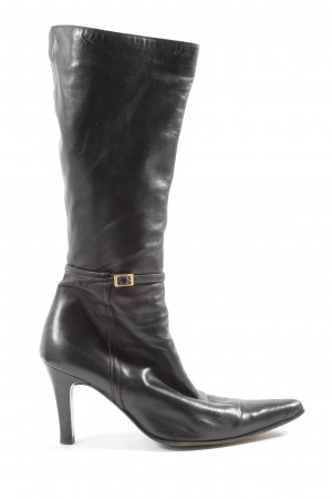 Som Mits High Heel Boots black casual look