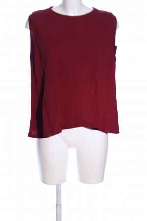 someday ärmellose Bluse rot Casual-Look