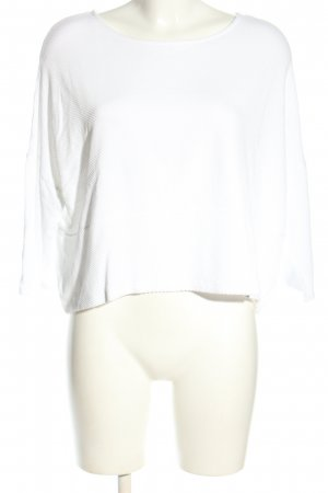 someday Cropped Shirt weiß Casual-Look