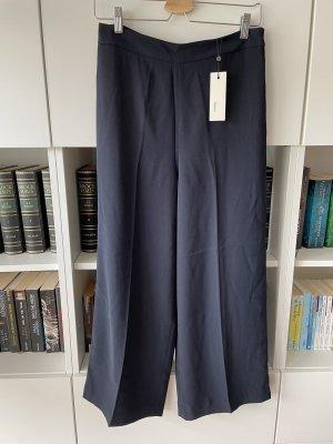 someday Falda pantalón de pernera ancha azul oscuro-azul