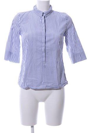 someday Hemd-Bluse blau-weiß Streifenmuster Business-Look