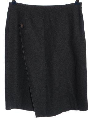 someday Jupe taille haute gris clair moucheté style d'affaires