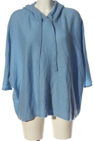 someday Sweter z kapturem niebieski W stylu casual