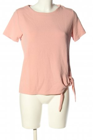 someday Kurzarm-Bluse pink Business-Look