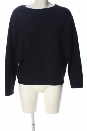 someday Langarm-Bluse schwarz Casual-Look