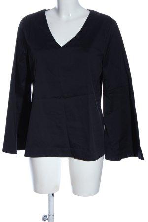 someday Langarm-Bluse blau Casual-Look