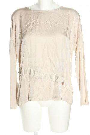 someday Langarm-Bluse wollweiß Casual-Look