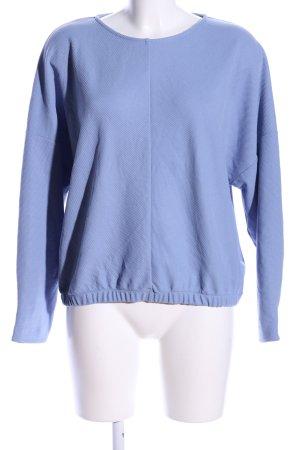 someday Langarm-Bluse blau Business-Look