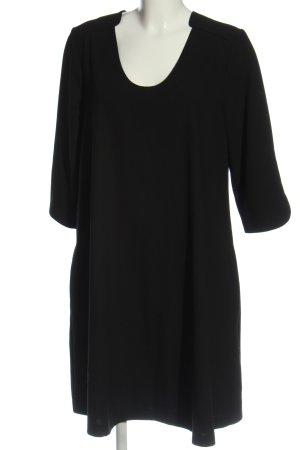 someday T-shirt jurk zwart zakelijke stijl
