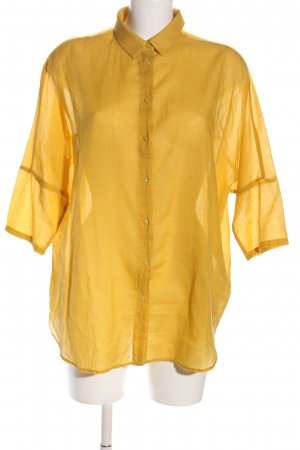 someday Blusa ancha amarillo pálido look casual