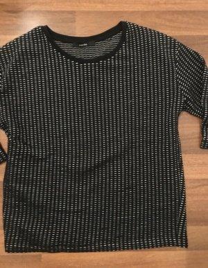 Someday Pullover gr. S 36 schwarz weiß