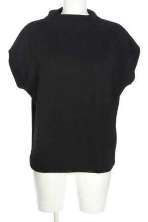 someday Rippshirt schwarz Casual-Look
