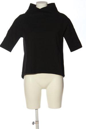 someday Turtleneck Shirt black casual look