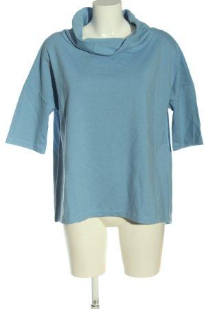 someday Koszulka z golfem niebieski W stylu casual