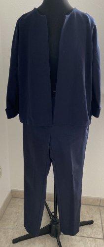 someday Ladies' Suit dark blue viscose