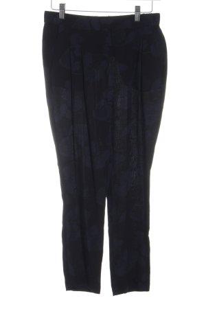 someday Stoffhose schwarz-dunkelblau Casual-Look