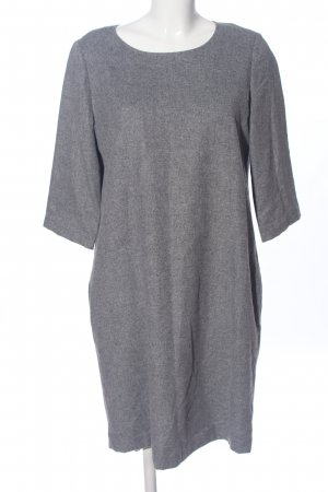 someday Knitted Dress light grey flecked casual look