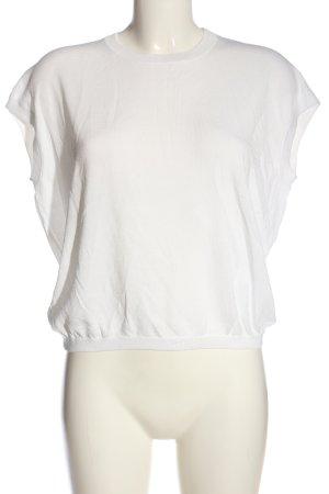 someday Strickshirt weiß Casual-Look
