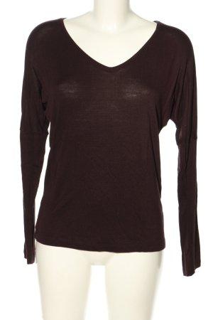 someday Strickshirt lila Casual-Look