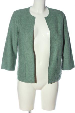 someday Blazer in lana turchese stile casual