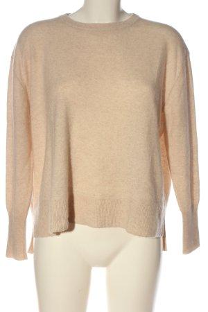 someday Wełniany sweter nude Melanżowy W stylu casual