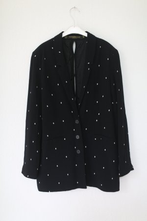 Something Else Blazer Oversized Vintage Look Gr. 38 schwarz Muster