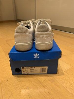 Sommer!Adidas Sleek Cloud White weiss